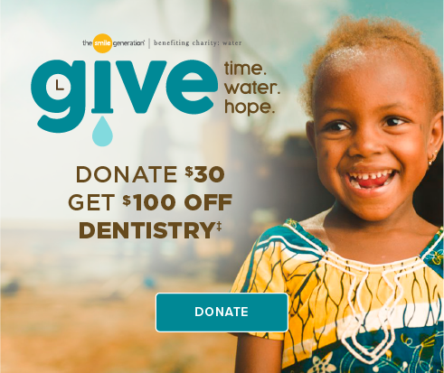Donate $30, Get $100 Off Dentistry - Friendswood Modern Dentistry